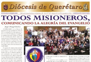 Semanario Diócesis de Querétaro: 23 al 29 de noviembre de 2014